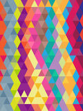Abstract geometric colorful background in triangles texture Royalty Free Stock Image