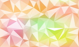 Abstract geometric colorful background stock photography
