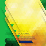 Abstract geometric colorful background. Royalty Free Stock Photo