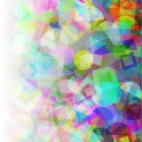 Abstract Geometric Colorful Background Stock Photo