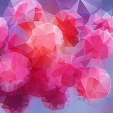 Abstract geometric colorful background. Vector illustration Abstract geometric colorful background Stock Illustration