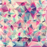 Abstract geometric colorful background. Vector illustration of Abstract vector geometric colorful background Royalty Free Stock Photography