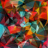 Abstract geometric colorful background. Vector illustration of Abstract vector geometric colorful background Royalty Free Illustration