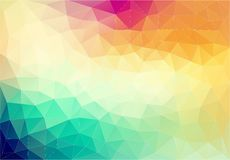 Abstract geometric colorful element. Vector background Royalty Free Stock Photography