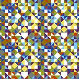 Geometrical triangle tiled pattern background royalty free stock photography