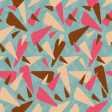 Abstract geometric colorful pattern background royalty free illustration