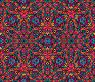 Abstract  geometric colorful seamless pattern Stock Image