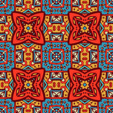 Abstract geometric colorful seamless pattern. Festive Colorful Tribal ethnic seamless vector pattern ornamental. Geometric print Royalty Free Stock Images