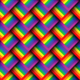 Abstract geometric colorful seamless pattern. Stock Images