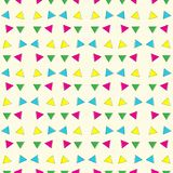 Abstract geometric colorful triangle pattern background. Stock Image