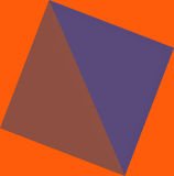 Abstract geometric composition Royalty Free Stock Photo