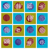 Abstract geometric compositions set, vector backgrounds collecti. On Stock Photos
