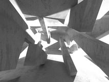 Abstract geometric concrete architecture background Royalty Free Stock Photo