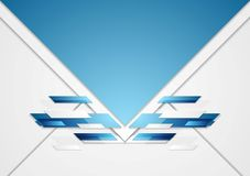 Abstract geometric corporate background Royalty Free Stock Photo