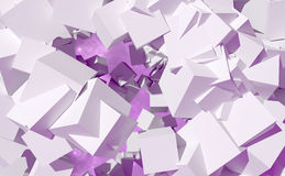 Abstract geometric cubes Royalty Free Stock Photo