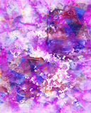 Abstract geometric cute watercolor colorful texture Stock Photos