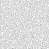 Abstract Geometric 3d White Seamless Pattern Royalty Free Stock Photography