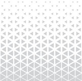 Abstract geometric deco art print halftone triangle pattern Stock Photos