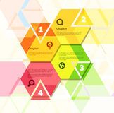 Abstract geometric design Stock Photography
