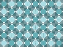 Abstract geometric design aqua / cyan colours. Aqua / cyan  abstract geometric design with triangles Stock Images