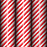 Abstract geometric diagonal striped pattern with red and white stripes. stock photos