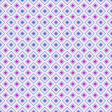Abstract geometric diamond shape seamless pattern, vector Stock Photography