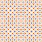 Abstract geometric diamond shape seamless pattern, vector Stock Photo