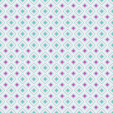 Abstract geometric diamond shape seamless pattern, vector Royalty Free Stock Image