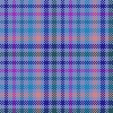 Abstract geometric digitally rendered checkered carpeting Stock Photography