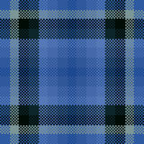 Abstract geometric digitally rendered checkered pattern usable for print on tablecloth or scarf. Abstract geometric digitally rendered checkered pattern usable Royalty Free Stock Image
