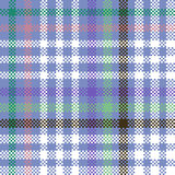 Abstract geometric digitally rendered checkered pattern Stock Photos