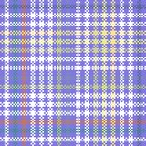 Abstract geometric digitally rendered violet pattern Stock Photos