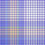 Abstract geometric digitally violet blue yellow green white design Stock Photos