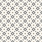 Abstract geometric dot seamless pattern Stock Image