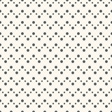 Abstract geometric dot seamless pattern Royalty Free Stock Photos