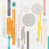 Abstract geometric dynamic element multicolor background,  Royalty Free Stock Photo