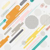 Abstract geometric dynamic element multicolor background,  Royalty Free Stock Photography