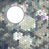 Abstract geometric elements in the form of honeycombs. Abstract background with geometric elements Royalty Free Stock Photography