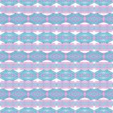 Abstract geometric ethnic boho pattern stock photography