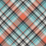 Abstract geometric fabric texture seamless pattern. Vector illustration Royalty Free Stock Image