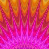 Abstract geometric flames from hell. Fractal background Royalty Free Stock Image