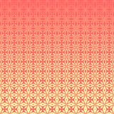 Abstract geometric floral outline pattern with halftone effect royalty free stock images