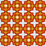 Abstract geometric floral pattern. Background Royalty Free Stock Photos