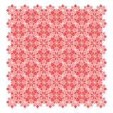 Abstract geometric flower pattern Stock Photography