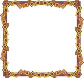 Abstract geometric frame Stock Photo