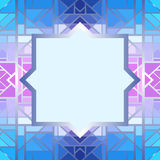 Abstract geometric frame Royalty Free Stock Images