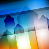 Abstract geometric gems and crystals glowing background with sparks and shining lines. Vector eps 10. Abstract geometric gems and crystals glowing background stock illustration