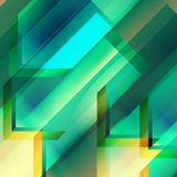 Abstract geometric gems and crystals glowing background with sparks and shining lines. Vector eps 10. Abstract geometric gems and crystals glowing background Royalty Free Stock Photo