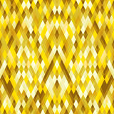 Abstract geometric gold concept background. Vector illustration Vector Illustration