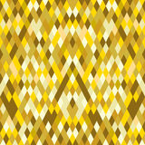 Abstract geometric gold concept background. Vector illustration Stock Illustration